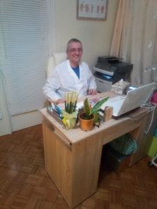 Γκατζούνης Θεόδωρος στο ιατρεό του Φυσικής Ιατρικής και Αποκατάστασης